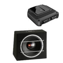 JBL GX-A602 + CS1204B autó hi-fi szett