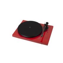 Pro-Ject Debut Carbon DC lemezjátszó /Ortofon OM-R10/ piros