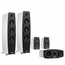 Jamo C 109 5.0 hangfalszett C103 háttérsugárzóval fehér