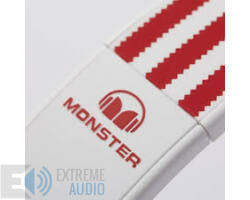 Monster ADIDAS OVER-EAR FEHÉR-PIROS fejhallgató