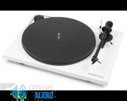 Pro-Ject Essential II Digital Phono analóg lemezjátszó fehér Ortofon OM-5e