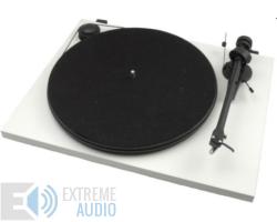 Pro-Ject Essential II Phono USB analóg lemezjátszó matt fehér Ortofon OM-5e