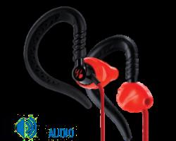 Yurbuds Focus 200 sport fülhallgató, piros DEMO