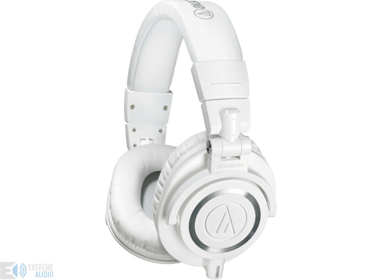 Audio-Technica ATH-M50X fejhallgató fehér