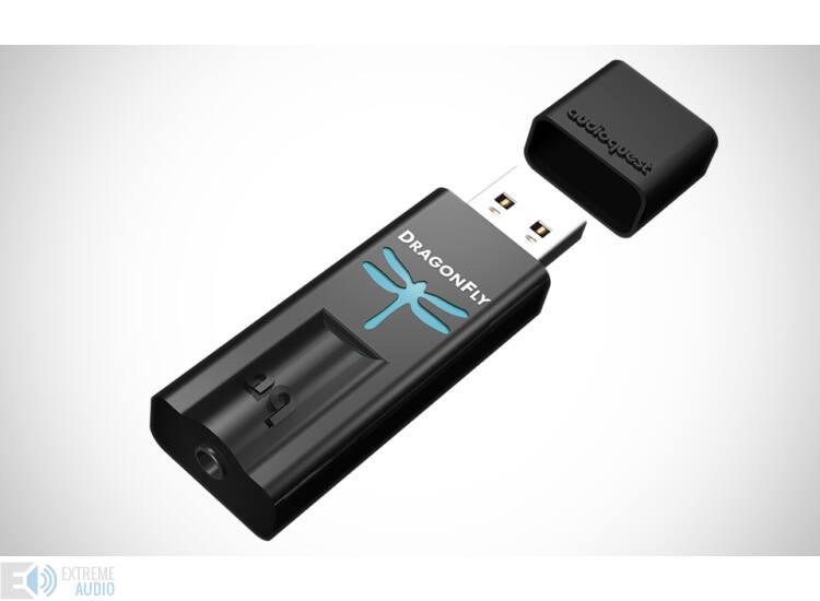 Audioquest Dragonfly Black  USB fejhallgató erősítő