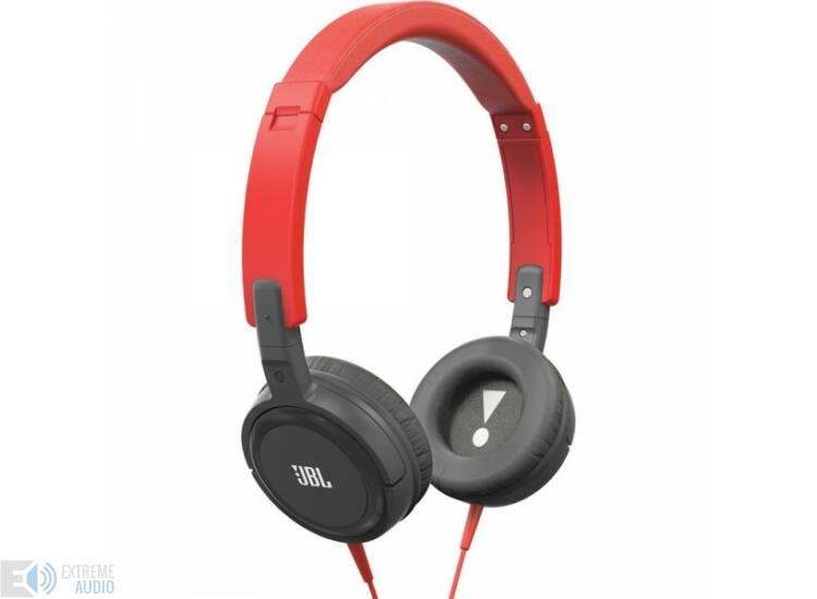 JBL T300 fejhallgató, piros