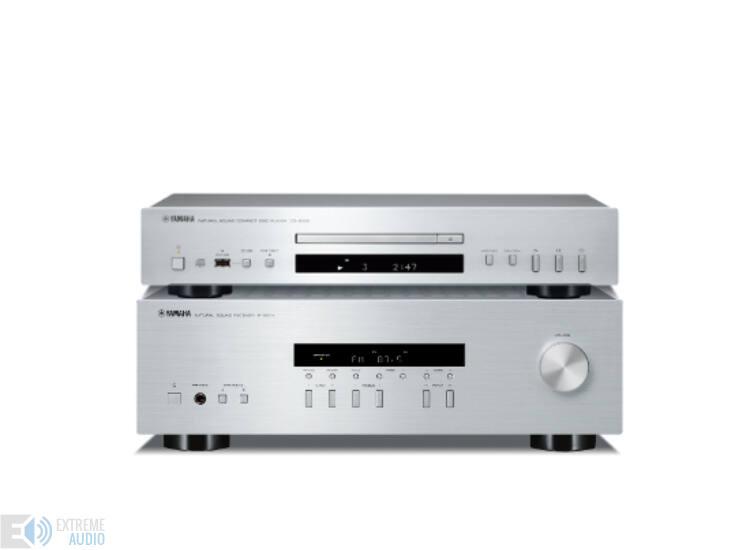 Yamaha R-S201 + CD-S300 sztereó szett, ezüst