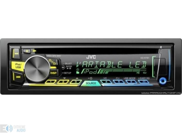 JVC KD-R761 MP3/CD/USB-s fejegység