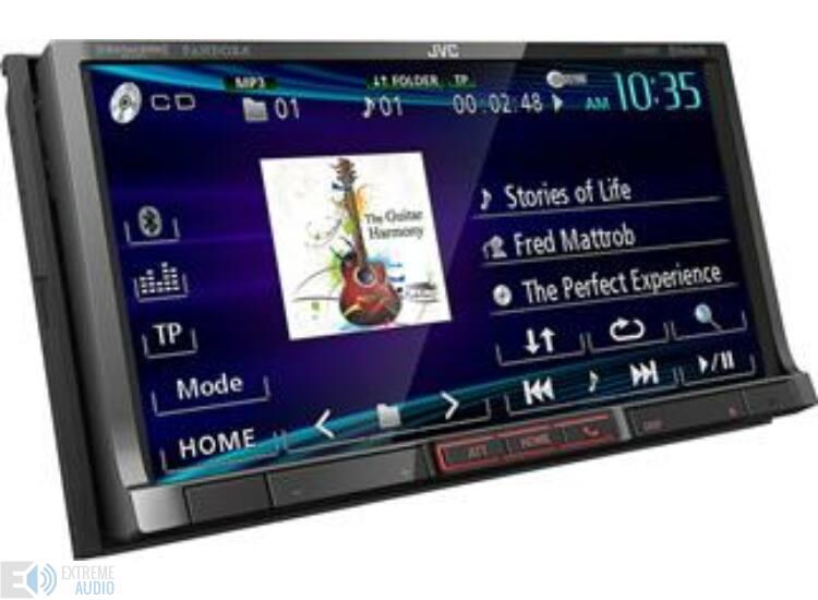 JVC KW-V41BT MP3/CD/DVD/USB-s 2 DIN-es fejegység