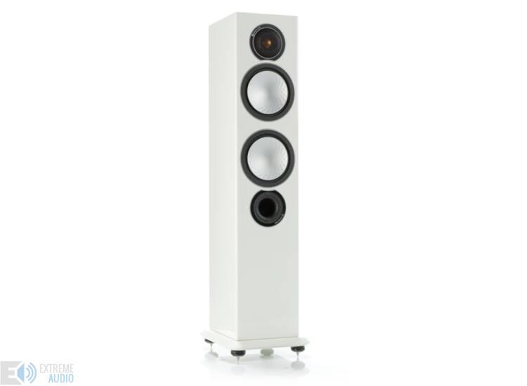 Monitor Audio Silver 6 magasfényű hangfal pár fehér lakk