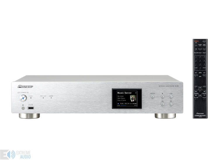 Pioneer N50 hálózati lejátszó ezüst