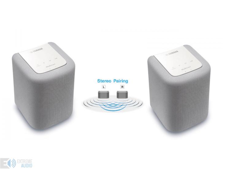 Yamaha WX-010 2 zónás sztereó vezeték nélküli HD audio hangszóró szett fehér