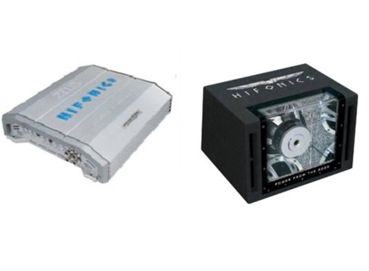 HIFONICS ZXi-4002 + HIFONICS ZXi-12BP